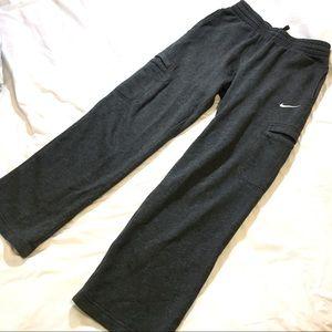 NIKE Gray Sweatpants - Small